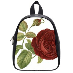 Rose 1077964 1280 School Bag (small) by vintage2030