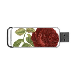 Rose 1077964 1280 Portable Usb Flash (one Side) by vintage2030