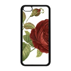 Rose 1077964 1280 Apple Iphone 5c Seamless Case (black) by vintage2030