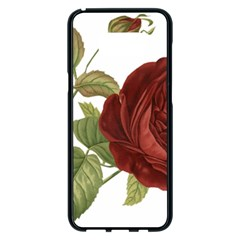 Rose 1077964 1280 Samsung Galaxy S8 Plus Black Seamless Case by vintage2030