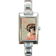 Vintage 1079412 1920 Rectangle Italian Charm Watch by vintage2030