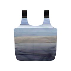 Pompey Beach Full Print Recycle Bag (s) by DeneWestUK
