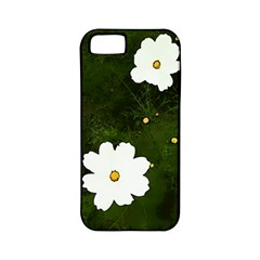 Daisies In Green Apple Iphone 5 Classic Hardshell Case (pc+silicone) by DeneWestUK