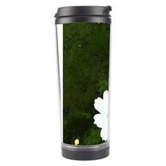 Daisies In Green Travel Tumbler by DeneWestUK