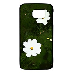 Daisies In Green Samsung Galaxy S6 Hardshell Case  by DeneWestUK