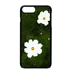 Daisies In Green Apple Iphone 7 Plus Seamless Case (black)