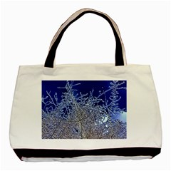 Crystalline Branches Basic Tote Bag (two Sides)
