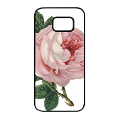 Rose 1078272 1920 Samsung Galaxy S7 Edge Black Seamless Case by vintage2030
