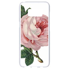 Rose 1078272 1920 Samsung Galaxy S8 White Seamless Case by vintage2030