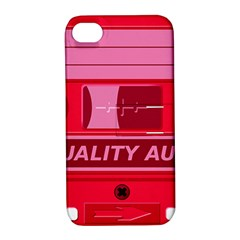 Red Cassette Apple Iphone 4/4s Hardshell Case With Stand by vintage2030
