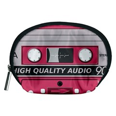 Pink Cassette Accessory Pouch (medium) by vintage2030