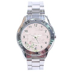 Background 1071141 1920 Stainless Steel Analogue Watch by vintage2030