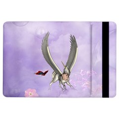 Cute Little Pegasus With Butterflies Ipad Air 2 Flip by FantasyWorld7