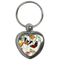 Butterfly 1064147 1920 Key Chains (heart)  by vintage2030