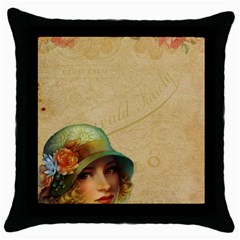 Old 1064510 1920 Throw Pillow Case (black) by vintage2030