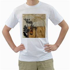 Vintage 1067751 1920 Men s T Shirt (white) (two Sided)