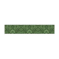 Damask Green Flano Scarf (mini) by vintage2030