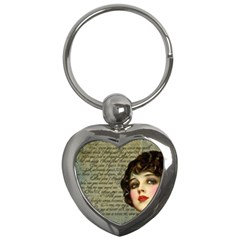 Vintage 1047247 1280 Key Chains (heart)  by vintage2030