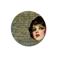 Vintage 1047247 1280 Rubber Coaster (round)  by vintage2030
