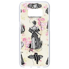 Vintage 1064132 1920 Samsung Galaxy S8 White Seamless Case by vintage2030