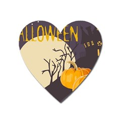Halloween 979495 1280 Heart Magnet by vintage2030