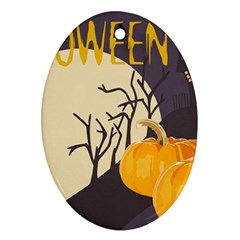 Halloween 979495 1280 Oval Ornament (two Sides) by vintage2030
