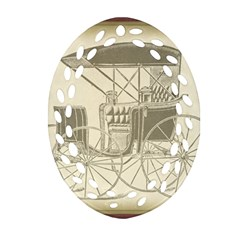 Vintage 979514 1280 Oval Filigree Ornament (two Sides)