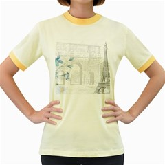 French 1047909 1280 Women s Fitted Ringer T Shirt