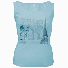 French 1047909 1280 Women s Baby Blue Tank Top