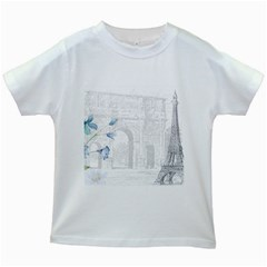 French 1047909 1280 Kids White T Shirts