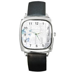 French 1047909 1280 Square Metal Watch