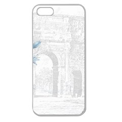 French 1047909 1280 Apple Seamless Iphone 5 Case (clear)