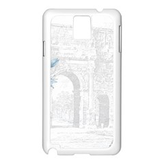 French 1047909 1280 Samsung Galaxy Note 3 N9005 Case (white)
