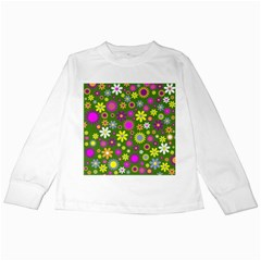 Abstract 1300667 960 720 Kids Long Sleeve T Shirts by vintage2030