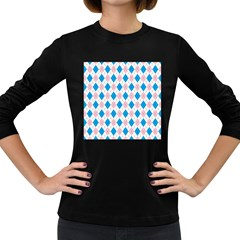 Argyle 316838 960 720 Women s Long Sleeve Dark T Shirt