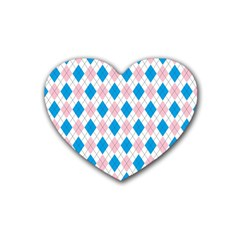 Argyle 316838 960 720 Rubber Coaster (heart)