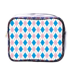 Argyle 316838 960 720 Mini Toiletries Bag (one Side)