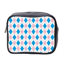 Argyle 316838 960 720 Mini Toiletries Bag (two Sides)