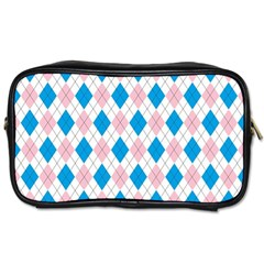 Argyle 316838 960 720 Toiletries Bag (two Sides)
