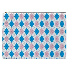 Argyle 316838 960 720 Cosmetic Bag (xxl)