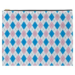 Argyle 316838 960 720 Cosmetic Bag (xxxl)
