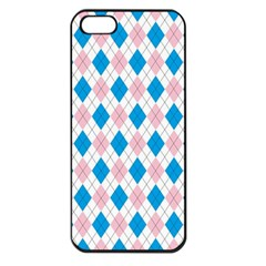 Argyle 316838 960 720 Apple Iphone 5 Seamless Case (black)