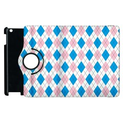 Argyle 316838 960 720 Apple Ipad 3/4 Flip 360 Case