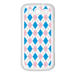 Argyle 316838 960 720 Samsung Galaxy S3 Back Case (white)