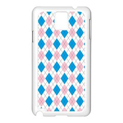 Argyle 316838 960 720 Samsung Galaxy Note 3 N9005 Case (white)