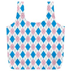 Argyle 316838 960 720 Full Print Recycle Bag (xl)