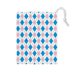 Argyle 316838 960 720 Drawstring Pouch (large)