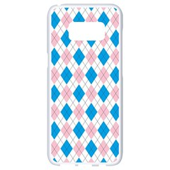 Argyle 316838 960 720 Samsung Galaxy S8 White Seamless Case