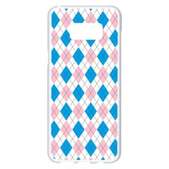 Argyle 316838 960 720 Samsung Galaxy S8 Plus White Seamless Case