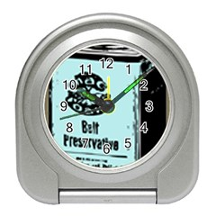 Liftarn Old Can Brown Travel Alarm Clock